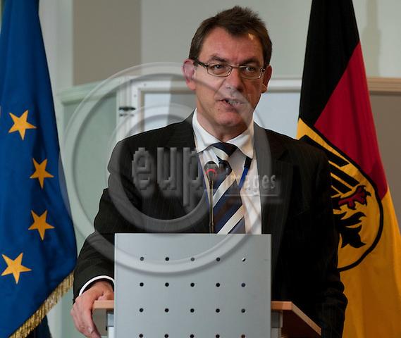 Brussels-Belgium - October 21, 2010 -- Ambassador Peter TEMPEL, Permanent Representative of Germany to the EU -- Photo: Horst Wagner / eup-images