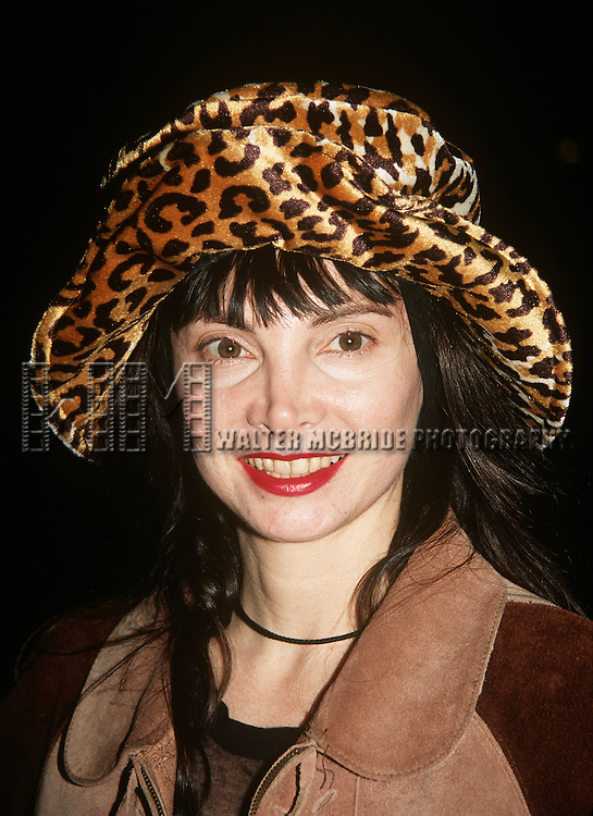 "Toni Basil pictured at ""Experience the Divine"" Bette Midler in Concert at Radio City Music Hall in New York City on September 14, 1993."