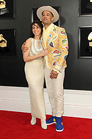 10 February 2019 - Los Angeles, California - Jaclyn Matfus, Ben Harper. 61st Annual GRAMMY Awards held at Staples Center. Photo Credit: AdMedia