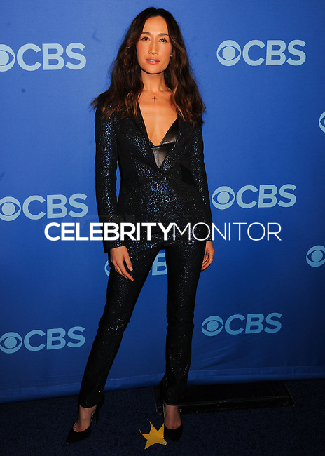 NEW YORK CITY, NY, USA - MAY 14: Maggie Q at the 2014 CBS Upfront held at Carnegie Hall on May 14, 2014 in New York City, New York, United States. (Photo by Celebrity Monitor)