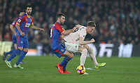 Crystal Palace's James McArthur and Manchester United's Scott McTominay<br /> <br /> Photographer Rob Newell/CameraSport<br /> <br /> The Premier League - Wednesday 27th February 2019  - Crystal Palace v Manchester United - Selhurst Park - London<br /> <br /> World Copyright © 2019 CameraSport. All rights reserved. 43 Linden Ave. Countesthorpe. Leicester. England. LE8 5PG - Tel: +44 (0) 116 277 4147 - admin@camerasport.com - www.camerasport.com