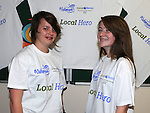 Emily Perman and Christine Phelan at the official opening of the Local Heroes office on West street. Photo: Colin Bell/pressphotos.ie