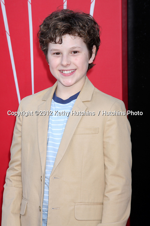 "LOS ANGELES - JUN 28:  Nolan Gould arrives at the ""The Amazing Spider-Man"" Premiere at Village Theater on June 28, 2012 in Westwood, CA"