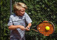 Hilversum, Netherlands, August 7, 2017, National Junior Championships, NJK, Marcus van den Bergen<br /> Photo: Tennisimages/Henk Koster