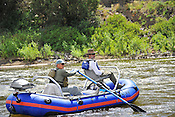 Fishermen & Women floating the Upper Colorado River fishing between Rancho Del Rio and State Bridge on July 16, 2014.