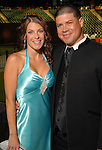 Michelle Schooley and Humberto Quintero at the Astros Wives Gala at Minute Maid Park Thursday July 31,2008. (Dave Rossman/For the Chronicle)