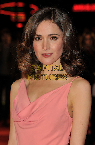 Rose Byrne.attends the UK Premiere of 'I Give It A Year', Vue West End cinema, London, England, UK, 24th January 2013..portrait headshot pink wavy hair make-up beauty.CAP/WIZ.© Wizard/Capital Pictures.