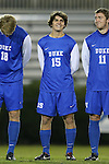 25 October 2013: Duke's Zach Mathers. The Duke University Blue Devils hosted the Wake Forest University Demon Deacons at Koskinen Stadium in Durham, NC in a 2013 NCAA Division I Men's Soccer match. The game ended in a 2-2 tie after two overtimes.