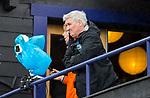 DEN HAAG - Manager Joof Verhees, tijdens de trainingswedstrijd Nederland-Argentinie (1-2). COPYRIGHT KOEN SUYK