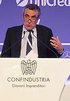CAPRI  27/10/2012 -.XXVII CONVEGNO GIOVANI INDUSTRIALI .NELLA FOTO FABRIZIO BARCA.FOTO CIRO DE LUCA