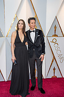 Talisa Soto and Benjamin Bratt arrive on the red carpet of The 90th Oscars&reg; at the Dolby&reg; Theatre in Hollywood, CA on Sunday, March 4, 2018.<br /> *Editorial Use Only*<br /> CAP/PLF/AMPAS<br /> Supplied by Capital Pictures