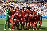 Belgium team group line-up (BEL), JULY 5, 2014 - Football / Soccer : FIFA World Cup Brazil 2014 Quarter-finals match between Argentina 1-0 Belgium at Estadio Nacional in Brasilia, Brazil. (Photo by FAR EAST PRESS/AFLO)