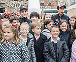 """Marc Marquez (Moto GP World champion) and his Repsol Honda team mate Dani Pedrosa attended the inauguration of """"Repsol Racing tour"""". The exposition shows the 45 years history of the company in the world championship. The tour came to Alcala de Henares in Madrid thanks to the students of the Santa Maria de la Providencia school, who won a contest. On november 13, 2014. Photo by IVAN ESPINOLA/ DYD FOTOGRAFOS-DYDPPA/Photocall3000"""