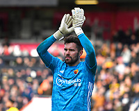 Ben Foster of Watford during AFC Bournemouth vs Watford, Premier League Football at the Vitality Stadium on 12th January 2020
