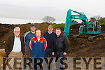 Kerry Cricket Club;Pictured l-r Dave Ramsey (Chairman),Richard Ruthland (Vice Chairman) James and Tim Allman (Developers)and Sean Rutland (Club Captain) at the new development in Spa,Fenit