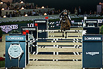 Martin Fuchs of Switzerland rides PSG Future at the Longines Grand Prix during the Longines Hong Kong Masters 2015 at the AsiaWorld Expo on 15 February 2015 in Hong Kong, China. Photo by Aitor Alcalde / Power Sport Images