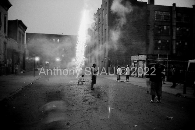 Brooklyn, New York<br /> July 4, 2003 <br /> <br /> Celebrating Independence Day.