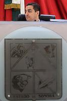 David Palafox nuevo presidente de la mesa directiva del Congreso, durante la session ordinaria de esta ma&ntilde;ana, en la camara de diputados del H. Congreso del estado de Sonora<br /> ** &copy;Foto:LuisGutierez/NortePhoto.com