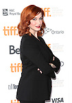 Christina Hendricks attending the The 2012 Toronto International Film Festival.Red Carpet Arrivals for Jason Reitman's Live Read of 'American Beauty' at the Ryerson Theatre in Toronto on 9/6/2012