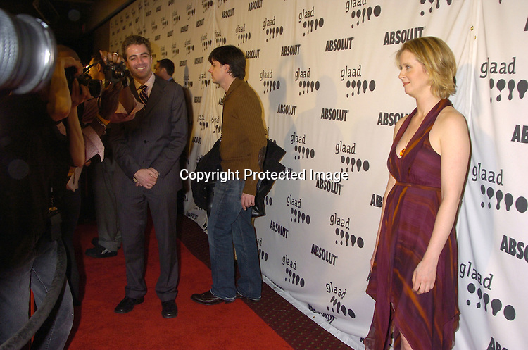 Cynthia Nixon ..at The 16th Annual Glaad Media Awards on March 28, 2005 at The Marriott Marquis Hotel. ..Photo by Robin Platzer, Twin Images