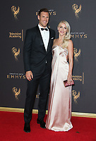 LOS ANGELES, CA - SEPTEMBER 09: Brooks Laich, Julianne Hough, at the 2017 Creative Arts Emmy Awards at Microsoft Theater on September 9, 2017 in Los Angeles, California. <br /> CAP/MPIFS<br /> &copy;MPIFS/Capital Pictures