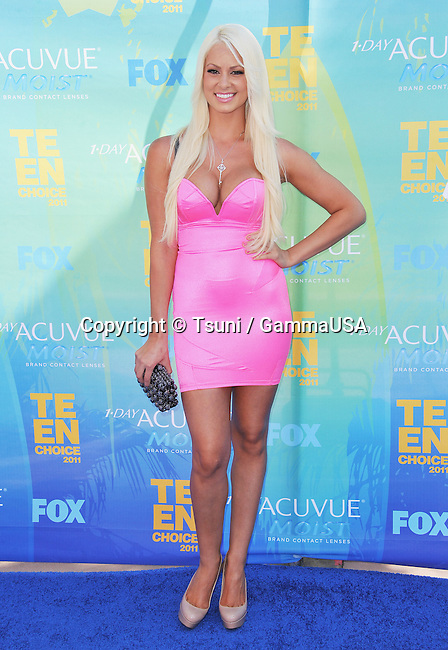 WWE Diva Maryse _109 at The Teen Choice Awards 2011 at the Gibson Universal Amphitheatre In Los Angeles.