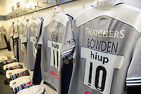 A general view of the matchday jersey of Dan Bowden of Bath Rugby. Aviva Premiership match, between Harlequins and Bath Rugby on November 27, 2016 at the Twickenham Stoop in London, England. Photo by: Patrick Khachfe / Onside Images
