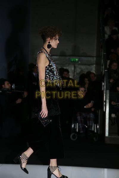 GIORGIO ARMANI <br /> Milan Fashion Week 2016 &ndash; AW16-17  Ready-To-Wear<br /> in Milan, Italy February 28, 2016.<br /> CAP/GOL<br /> &copy;GOL/Capital Pictures