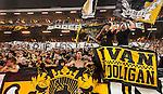 Solna 2014-08-13 Fotboll Allsvenskan AIK - Djurg&aring;rdens IF :  <br /> AIK:s supportrar<br /> (Foto: Kenta J&ouml;nsson) Nyckelord:  AIK Gnaget Friends Arena Allsvenskan Derby Djurg&aring;rden DIF supporter fans publik supporters