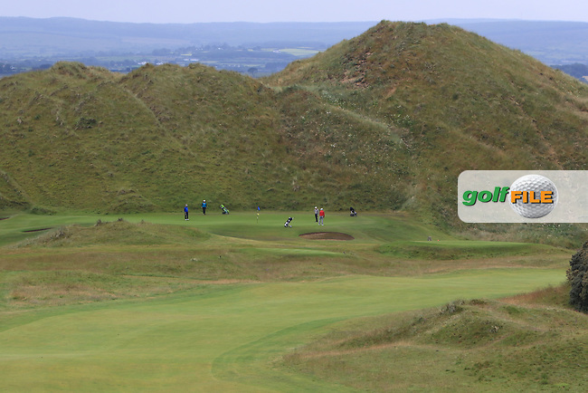 A view from the 1th tee during Round 2 of the North of Ireland Amateur Open Championship 2019 at Portstewart Golf Club, Portstewart, Co. Antrim on Tuesday 9th July 2019.<br /> Picture:  Thos Caffrey / Golffile<br /> <br /> All photos usage must carry mandatory copyright credit (© Golffile | Thos Caffrey)