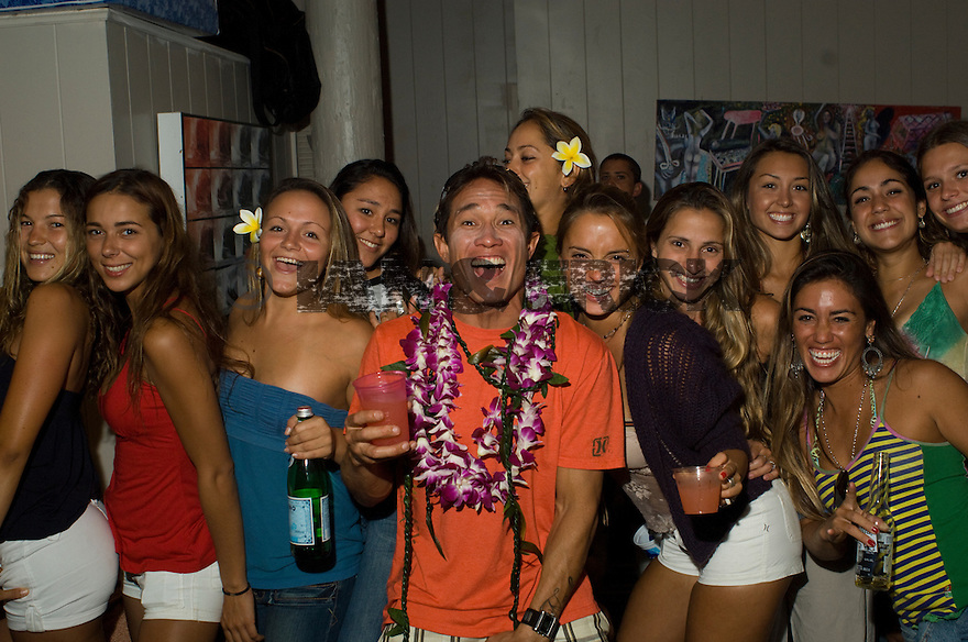 Kahea Hart birthday party at the Volcom House.
