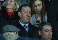 Swansea City chairman Huw Jenkins during the Barclays Premier League match between Swansea City and Leicester City played at The Liberty Stadium on 5th December 2015