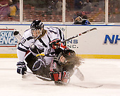 Kailey Chappell (UNH - 19), ? - The University of New Hampshire Wildcats defeated the Northeastern University Huskies 5-3 (EN) on Friday, January 8, 2010, at Fenway Park in Boston, Massachusetts as part of the Sun Life Frozen Fenway doubleheader.