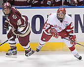Stephen Gionta, Ben Street - The University of Wisconsin Badgers defeated the Boston College Eagles 2-1 on Saturday, April 8, 2006, at the Bradley Center in Milwaukee, Wisconsin in the 2006 Frozen Four Final to take the national Title.