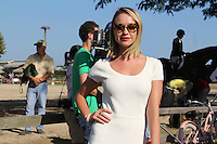 Becca Tobin attends The Hampton Classic 2014 on Aug. 27, 2014 (Photo by Taylor Donohue / Guest of a Guest)