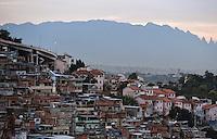 FUSSBALL WM 2014   Finale   07.07.2014 Ansicht einer Favela im Stadtteil Mangueira in Rio