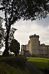 Dromoland Castle tower near Ennis, Ireland