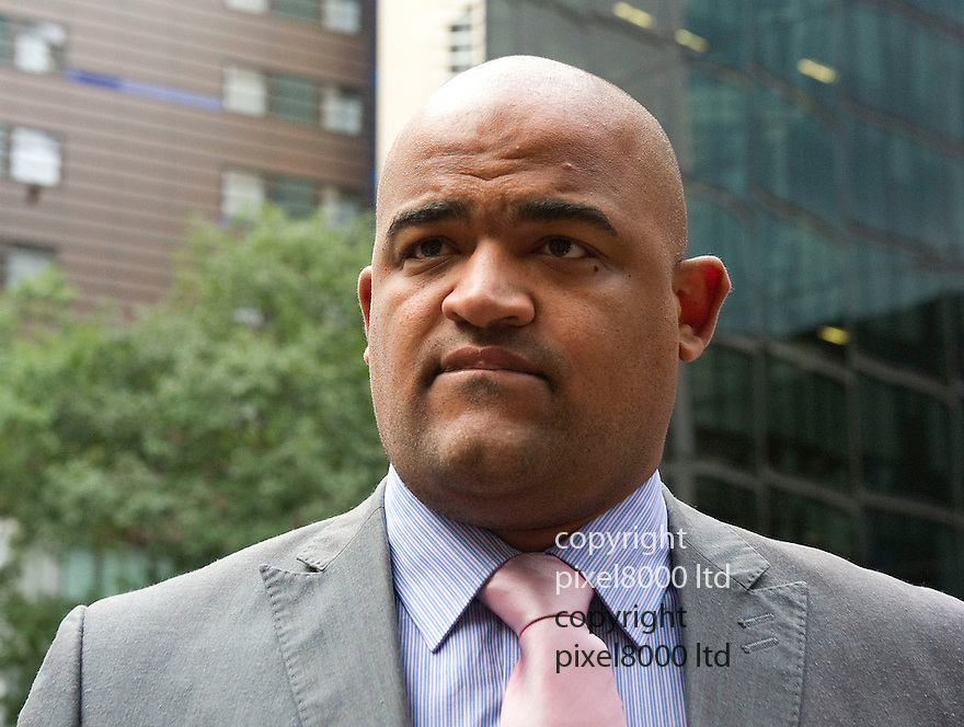 """Southwark Crown Court  .Ryan COLEMAN-FARROW arrives at court today..Ryan Coleman Farrow is with 13 counts of misconduct in a public office, the Crown Prosecution Service (CPS) said...The former detective constable """"wilfully engaged in conduct amounting to an abuse of the public's trust"""", charges against him will say.....The charges relate to allegations of misconduct between January 2007 and September 2010, while he was an officer at Kingston upon Thames, south-west London, working for Scotland Yard's specialist Sapphire unit...""""The 13 charges include allegations that Mr Coleman Farrow failed to perform his duty in investigating rape and sexual assault cases, falsified entries on the police's Crime Report Information System and falsified records of CPS decisions which had never actually been referred to the CPS,"""" specialist lawyer with the CPS Rosemary Fernandes said.....Pic by Gavin Rodgers/Pixel 8000 Ltd 12.9.12"""