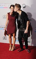 WWW.BLUESTAR-IMAGES.COM  Justin Bieber attends the 40th Anniversary American Music Awards held at Nokia Theatre L.A. Live on November 18, 2012 in Los Angeles, California..Photo: BlueStar Images/OIC jbm1005  +44 (0)208 445 8588..