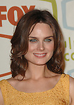 Emily Deschanel at the FOX Fall Eco-Casino Party held at  Area in West Hollywood, Ca. September 24, 2007. Fitzroy Barrett