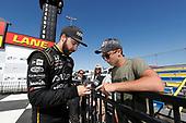 James Hinchcliffe, Schmidt Peterson Motorsports Honda, podium, fans