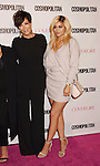 WEST HOLLYWOOD, CA - OCTOBER 12: TV personalities Kris Jenner (L) and Kylie Jenner arrive at Cosmopolitan Magazine's 50th Birthday Celebration at Ysabel on October 12, 2015 in West Hollywood, California.