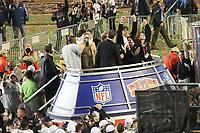 Drew Brees und Sean Payton (Saints) feiern<br /> Super Bowl XLIV: Indianapolis Colts vs. New Orleans Saints *** Local Caption *** Foto ist honorarpflichtig! zzgl. gesetzl. MwSt. Auf Anfrage in hoeherer Qualitaet/Aufloesung. Belegexemplar an: Marc Schueler, Alte Weinstrasse 1, 61352 Bad Homburg, Tel. +49 (0) 151 11 65 49 88, www.gameday-mediaservices.de. Email: marc.schueler@gameday-mediaservices.de, Bankverbindung: Volksbank Bergstrasse, Kto.: 52137306, BLZ: 50890000
