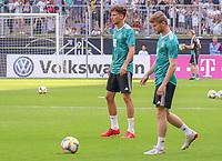 Timo Werner (Deutschland Germany), Leon Goretzka (Deutschland, Germany) - 05.06.2019: Öffentliches Training der Deutschen Nationalmannschaft DFB hautnah in Aachen