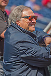 1 April 2013: Miami Marlins Owner and CEO Jeffrey Loria watches batting practice prior to the Opening Day Game between the Miami Marlins and the Washington Nationals at Nationals Park in Washington, DC. The Nationals shut out the Marlins 2-0 to launch the 2013 season. Mandatory Credit: Ed Wolfstein Photo *** RAW (NEF) Image File Available ***