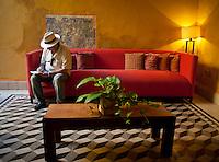 Casa del Artista, a boutique hotel in Izamal, Yucatan, Mexico