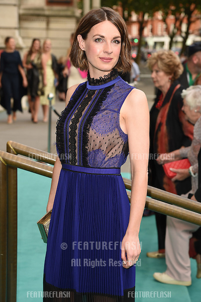 Jessica Raine at the V&amp;A Summer Party at the Victoria and Albert Museum, London.<br /> June 22, 2016  London, UK<br /> Picture: Steve Vas / Featureflash