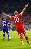 September 12th 2017, Munich, Germany, Champions League football, Bayern Munich versus Anderlecht;  MUNCHEN,GERMANY - SEPTEMBER 12 :  Arjen Robben appeals during the match