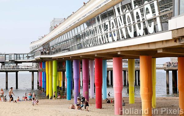 Nederland Scheveningen  2017 .  De Pier in Scheveningen.   Foto Berlinda van Dam / Hollandse Hoogte
