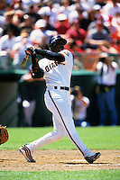 Baseball: San Francisco Giants Barry Bonds. San Francisco, CA 6/18/1999 MANDATORY CREDIT: Brad Mangin